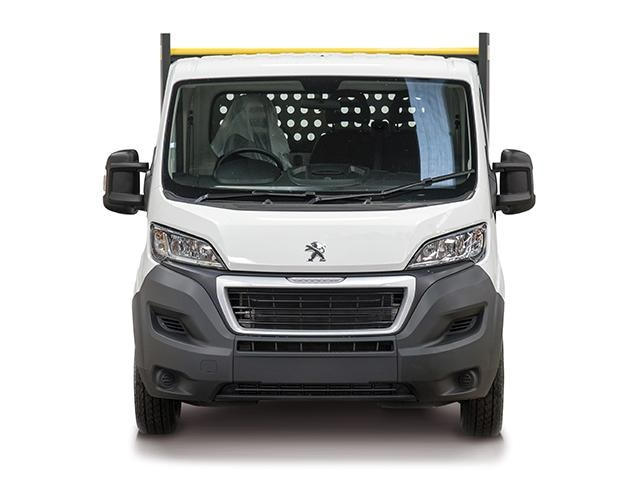 Peugeot Boxer Tipper Front View
