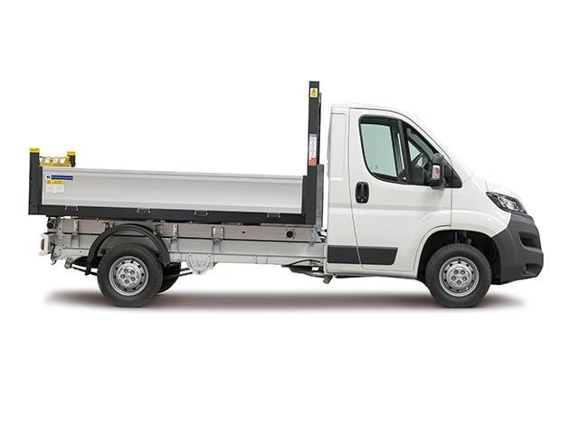 Peugeot Boxer Tipper Side View