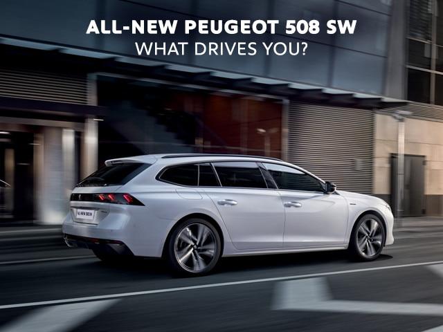 PEUGEOT 508 SW - White - GT Line