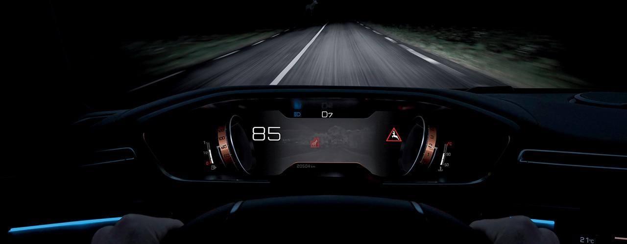 New 508 interior night vision