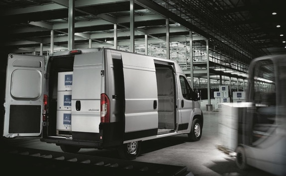 Peugeot Boxer: usable volume weigth length