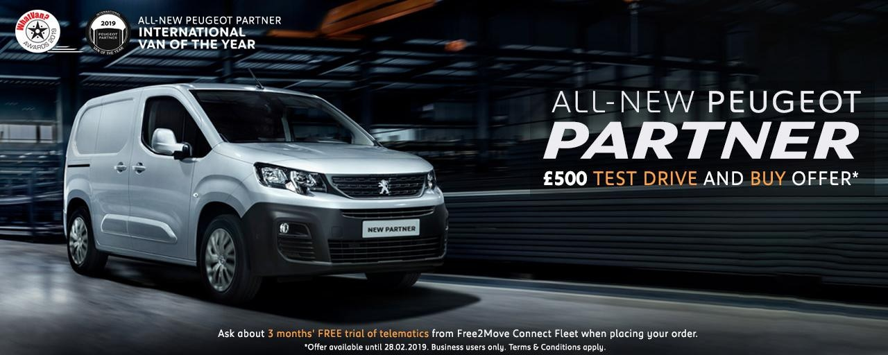 All-new Peugeot Partner Van