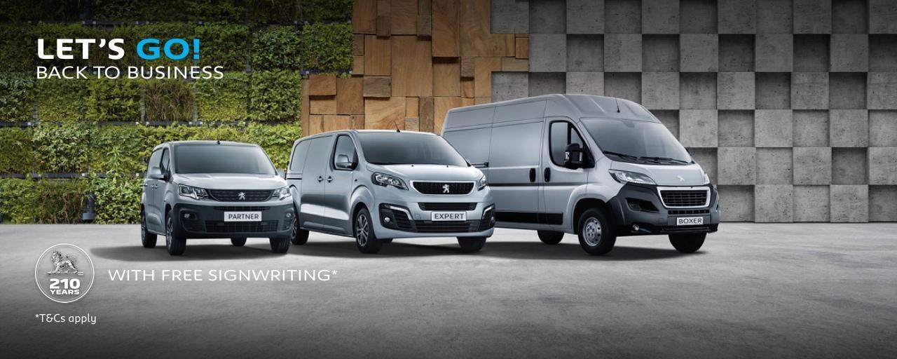 Peugeot LCV Range