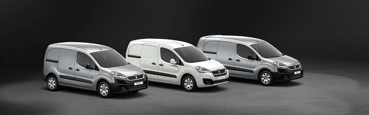 Peugeot Partner range