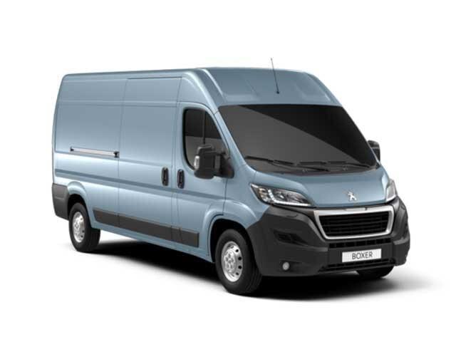 Pale Blue Peugeot Expert Van