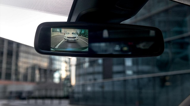 Peugeot Expert Van rear camera