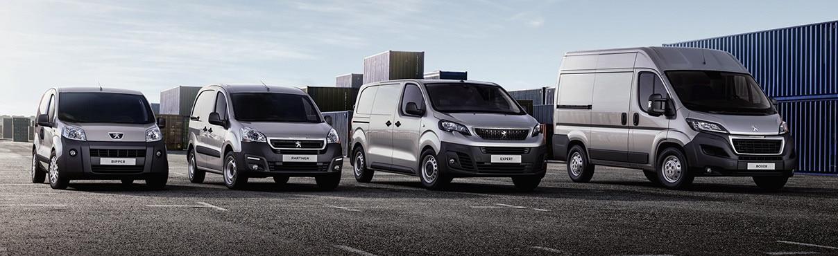 Peugeot Fleet Van Vehicles