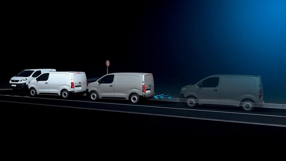 Peugeot Expert Van safety break