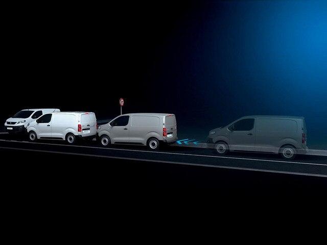 Peugeot Expert Van safety break