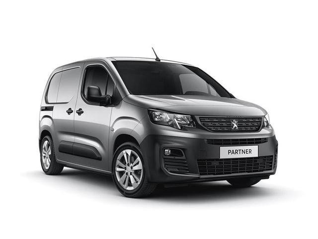 New Peugeot Partner Van Outright Purchase