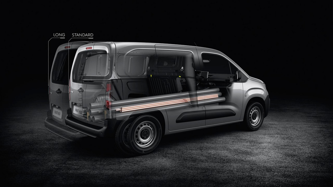 New Peugeot Partner | Loading & Capacities