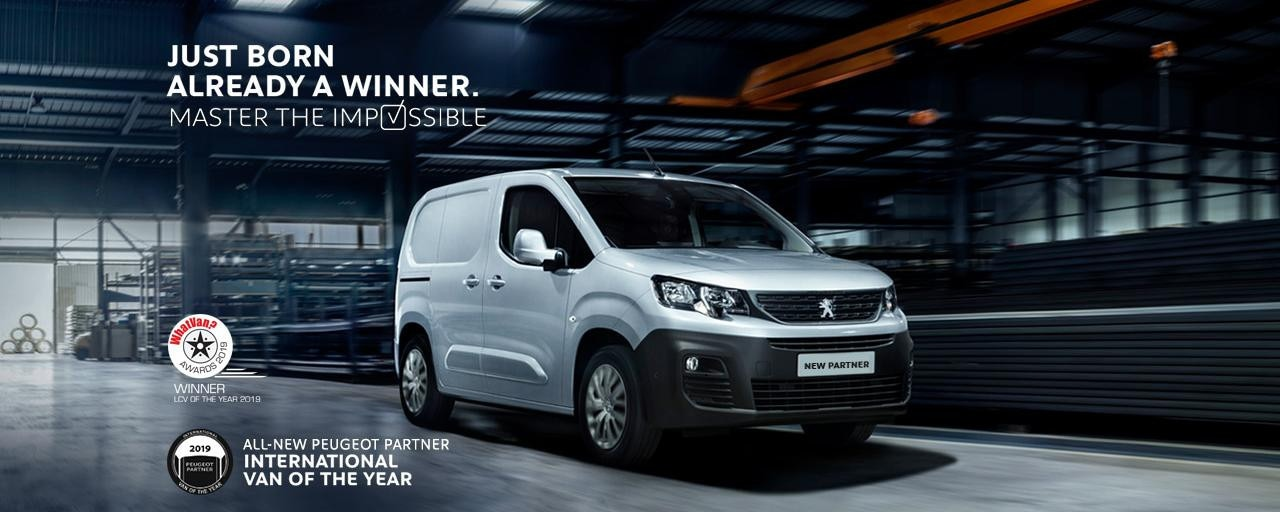 All-new Peugeot Partner - What Van award