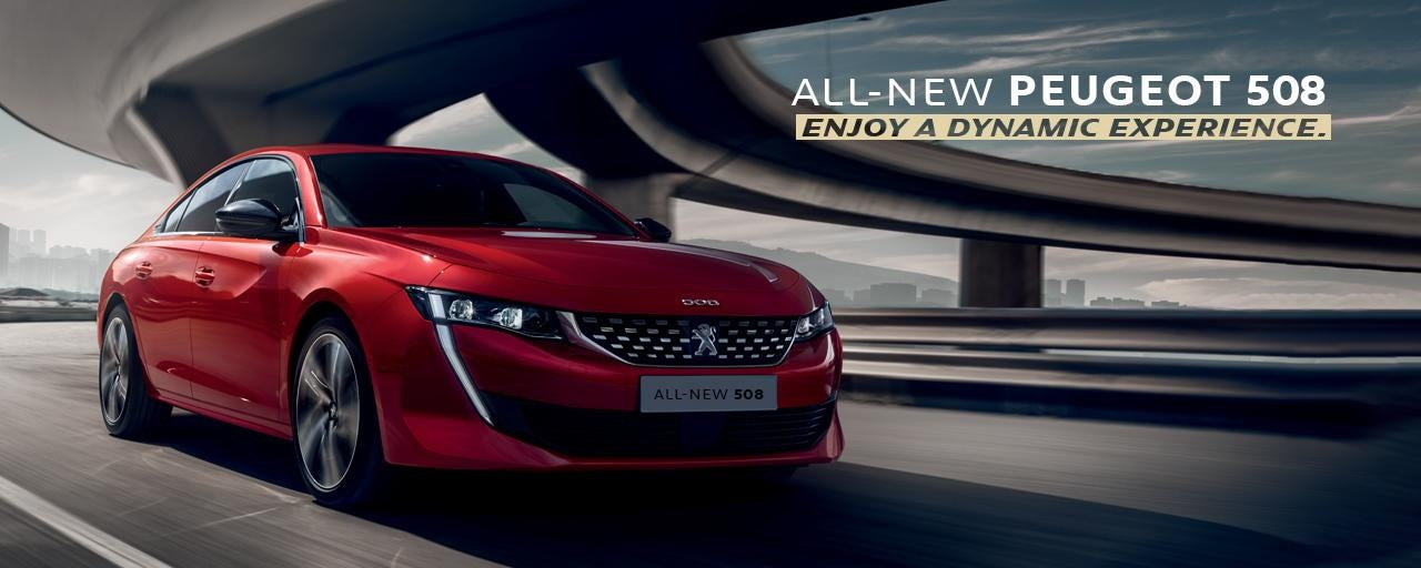 All-new 508 - Book a test drive