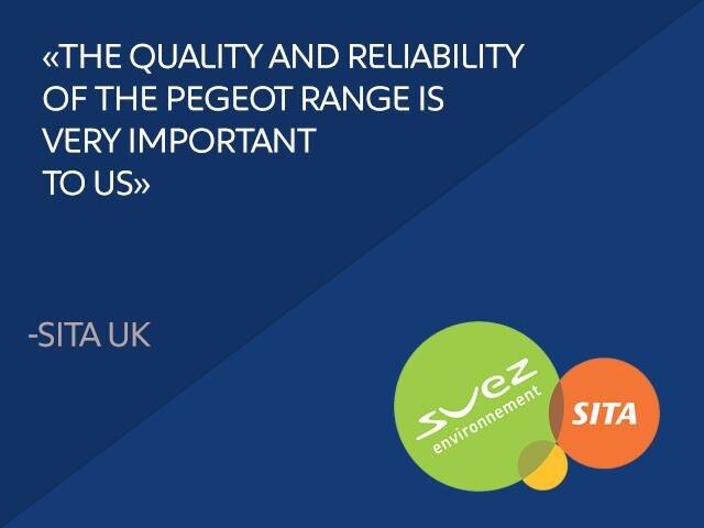 Peugeot quote Sita UK