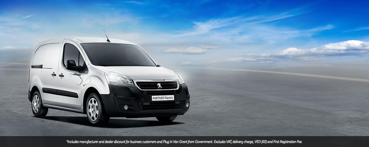 Peugeot Partner Electric UK price