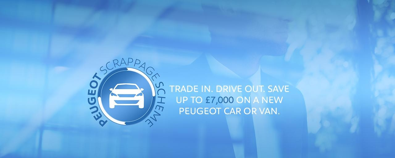 Peugeot Professional Scrappage Scheme