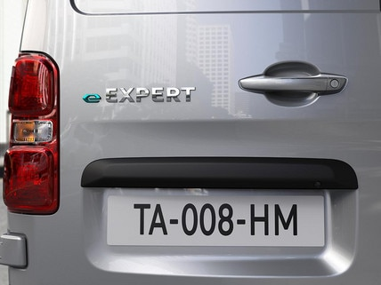 NEW PEUGEOT e-Expert - Rear e-Expert logo