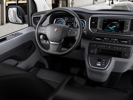 New Peugeot e-Expert - new driving position