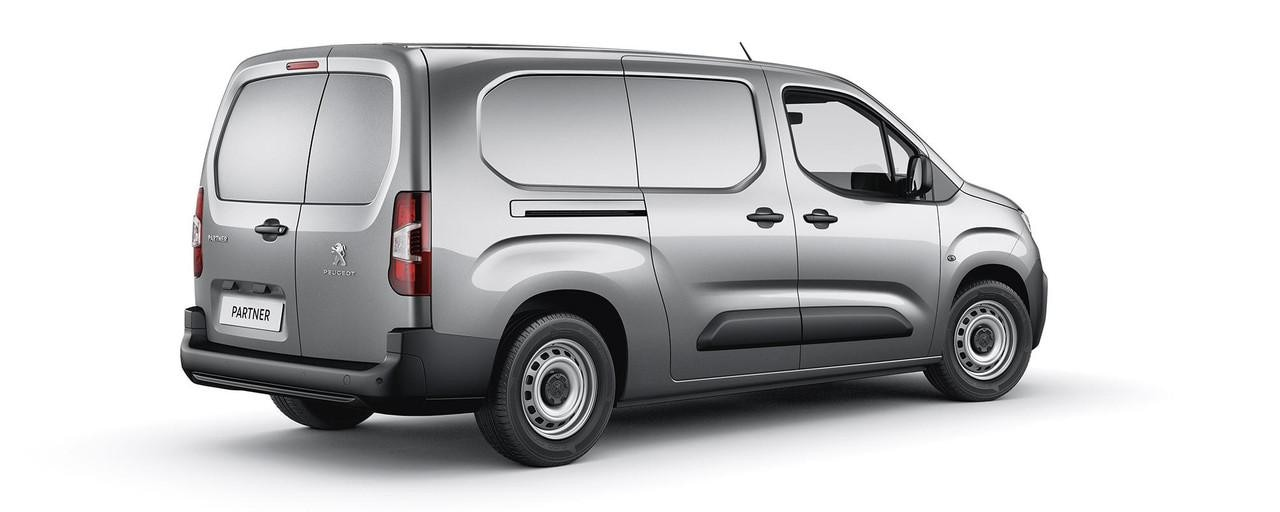 New Peugeot Partner Van - Grip Rear Style