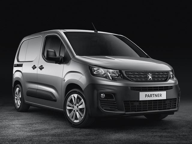 New Peugeot Partner Van - Asphalt - Design