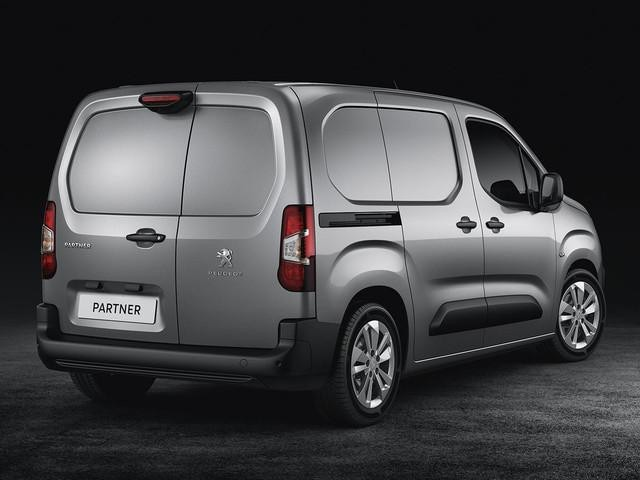 New Peugeot Partner Van - Asphalt - Rear Design