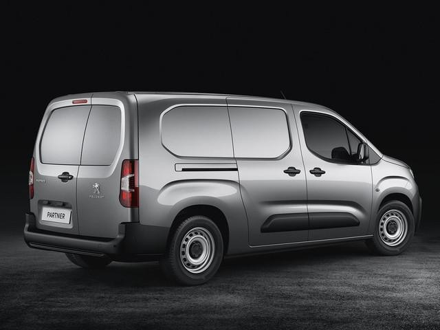 New Peugeot Partner Van - Grip - Rear Design