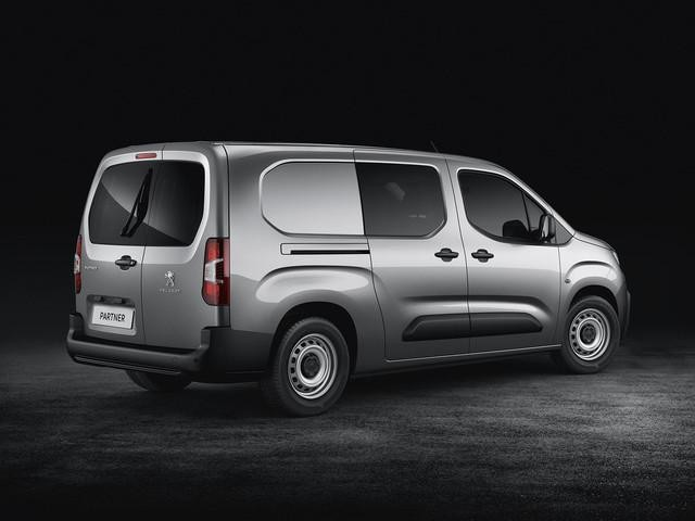 New Peugeot Partner Van - Extended Cab - Rear Design