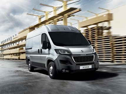 Peugeot Boxer Van prices and specs