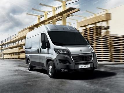 Peugeot Boxer Van prices and specs