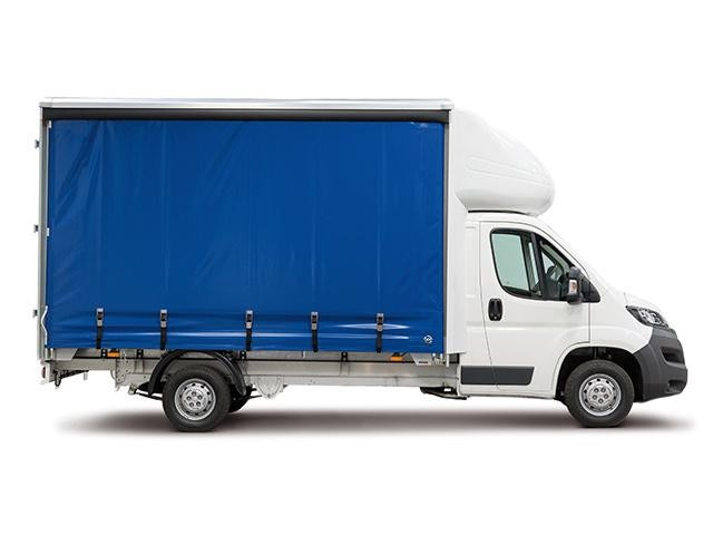 Peugeot Boxer Curtainsider Side View