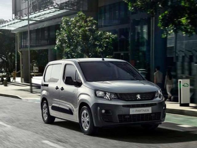 New PEUGEOT e-Partner: Compact all-electric van