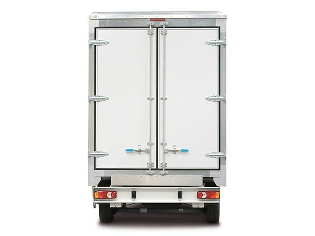 Peugeot Boxer Curtainsider Rear View