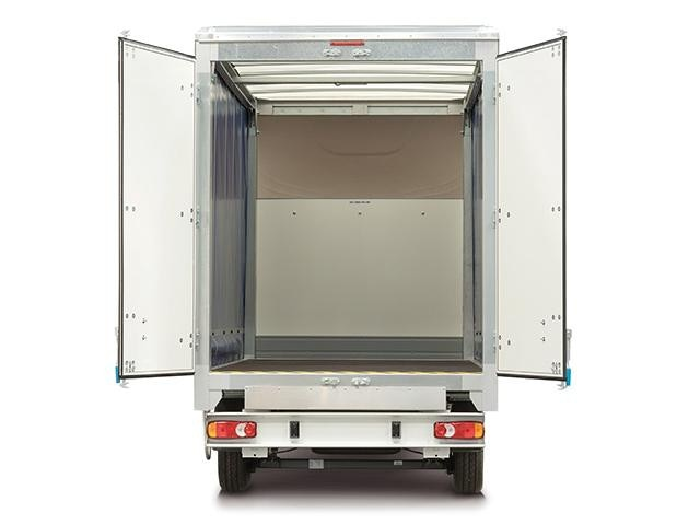 Peugeot Boxer Curtainsider Rear View - Open Doors