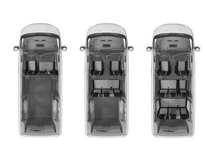 Peugeot Expert Combi flexible interior
