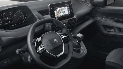 New Peugeot Partner Van -Interior - iCockpit