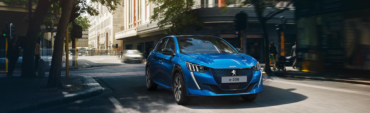 All-new Peugeot e-208 - full electric car