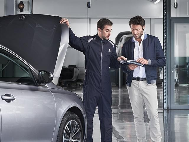 Peugeot aftersales support
