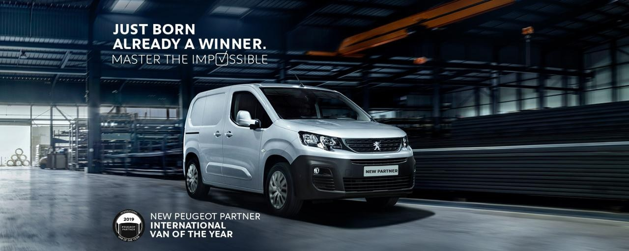 All-new Peugeot Partner - Van of the year