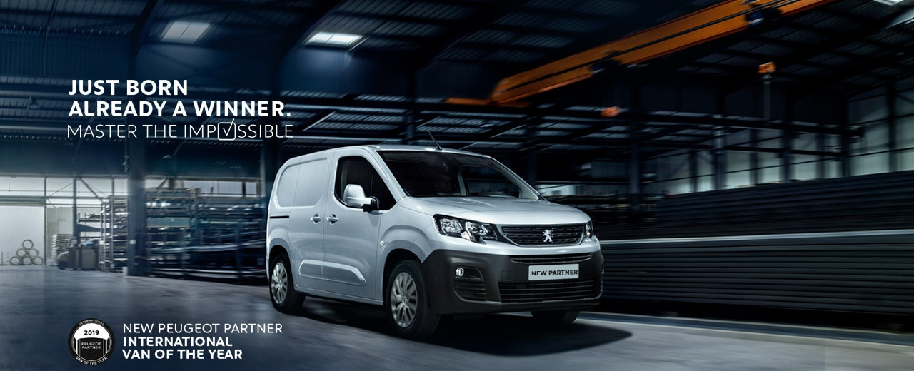 New Peugeot Partner Small Van 2018 | Peugeot Business UK