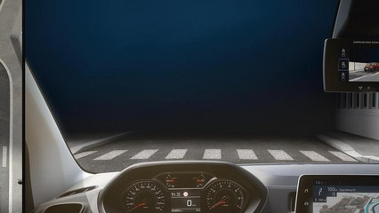 New Peugeot Partner Van - Surround Rear Vision