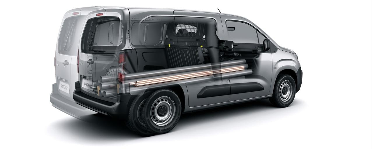 New Peugeot Partner Van - Long Payload