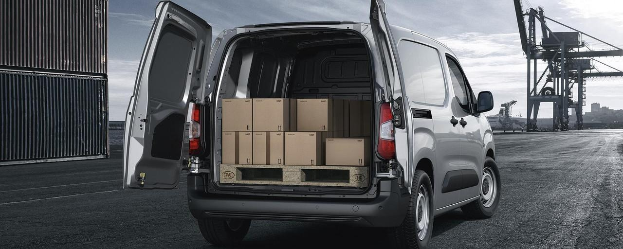 New Peugeot Partner Van - Euro Pallet Compatible