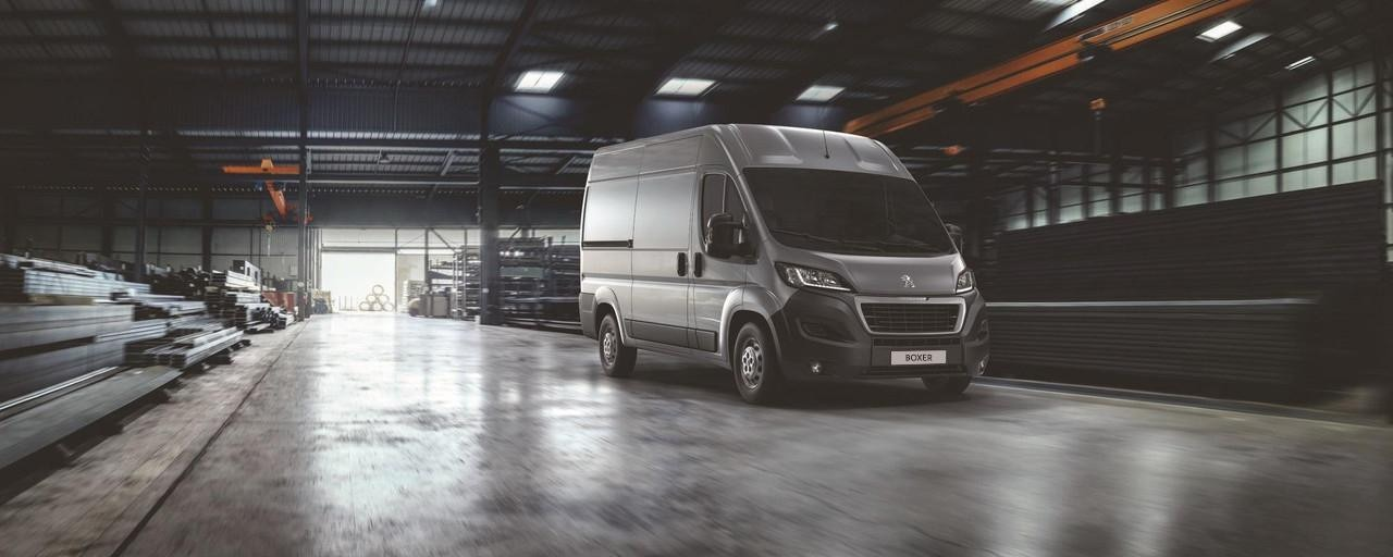 Peugeot Boxer available on Free2Move