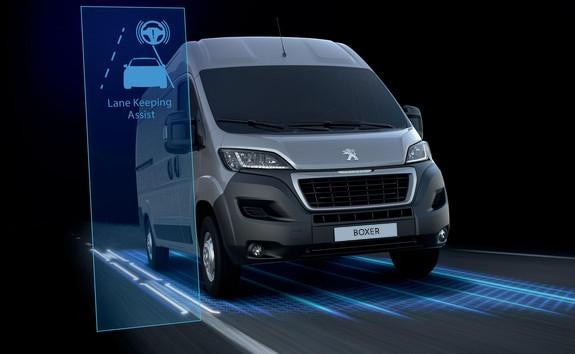 Peugeot Boxer - lane departure warning system