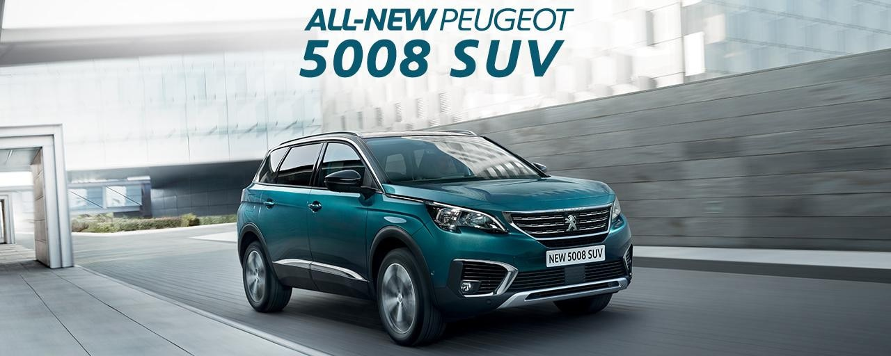 All-new 5008 SUV