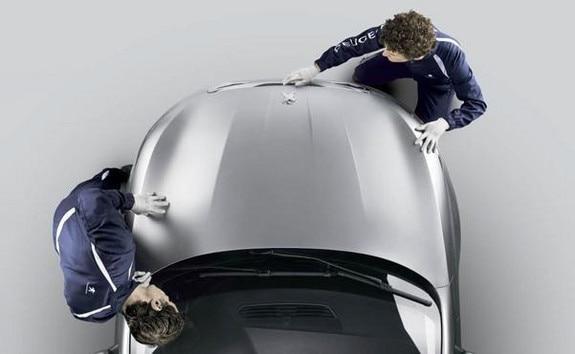 Peugeot company vehicle servicing