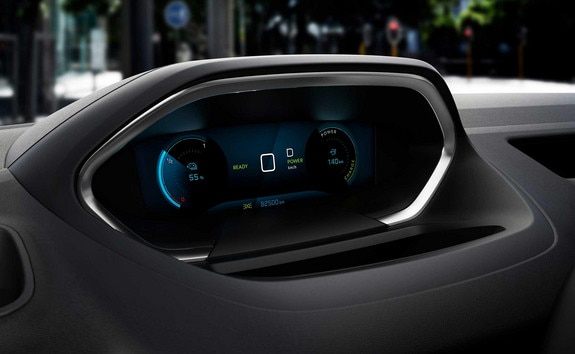 New PEUGEOT e-PARTNER i-Cockpit 10 inch high definition digital screen