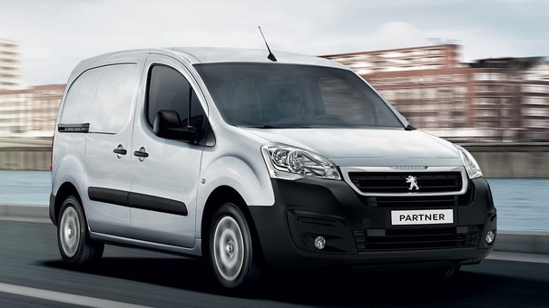 peugeot partner try the small van by peugeot. Black Bedroom Furniture Sets. Home Design Ideas