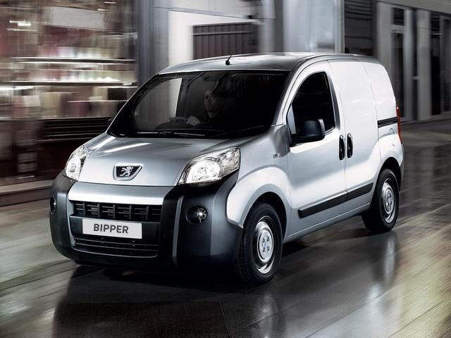 Peugeot Bipper front view