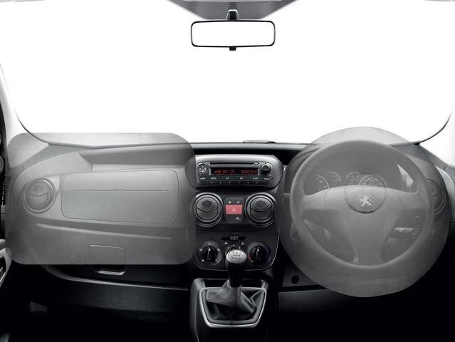 Peugeot Bipper airbag distribution